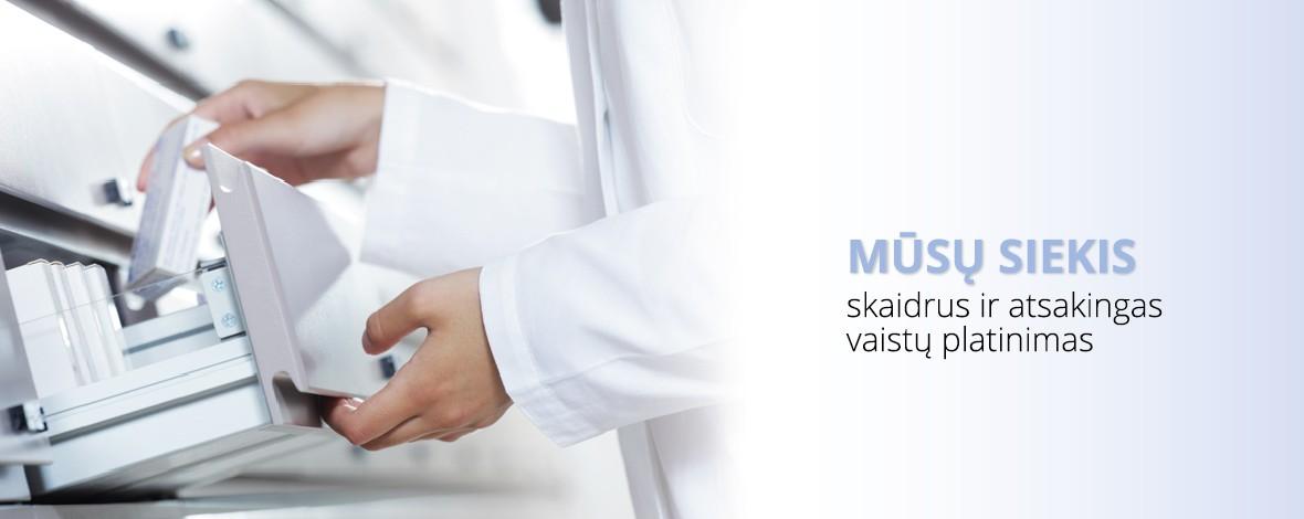 Mūsų siekis skaidrus ir atsakingas vaistų platinimas