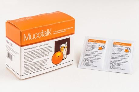 Mucofalk 3,25 g apelsinų skonio granulės geriamajam tirpalui