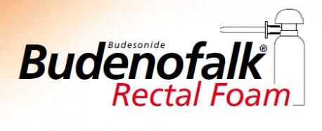 Budenofalk 2 mg/išpurškime tiesiosios žarnos putos